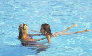 Aquatic safety training swim tests